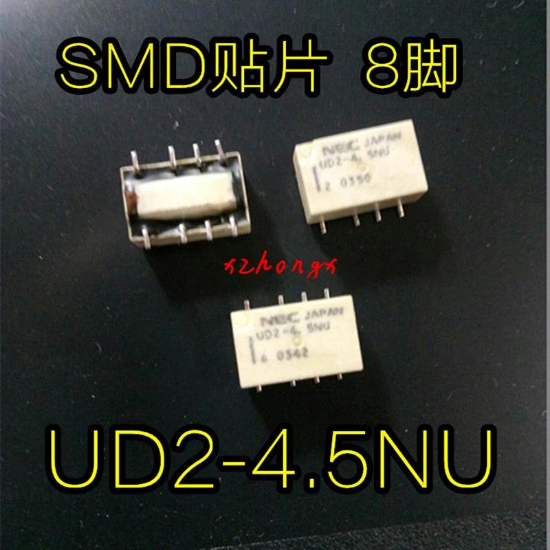 Relé de UD2-4.5NU dos abiertos dos cerrados 8 pasteles UD2-4.5NU 4.5VDC
