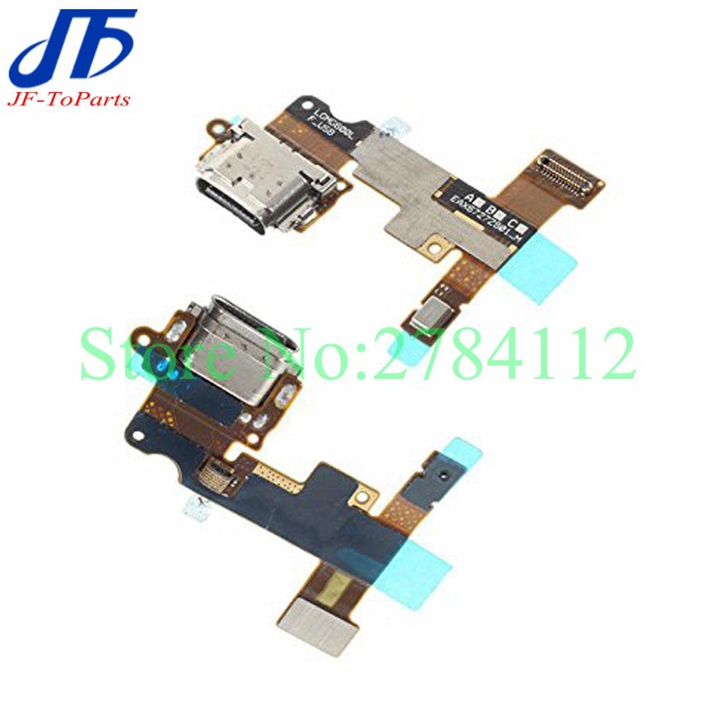 10 piezas de puerto de carga USB cargador Junta Flex Cable para LG G6 H870 H871 H872 LS993 VS998 US997 H873 Dock conector macho a