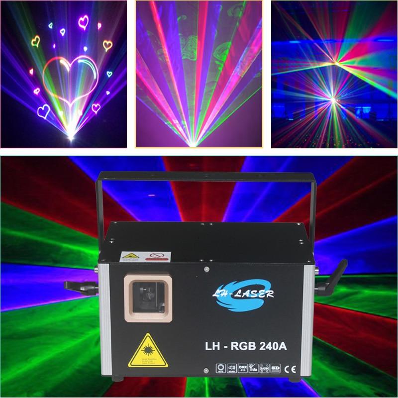 Envío Gratis ILDA + DMX512 + rj45 QUICKSHOW pangolín ILDA mostrar color RGB tarjeta sd de disco láser Luz