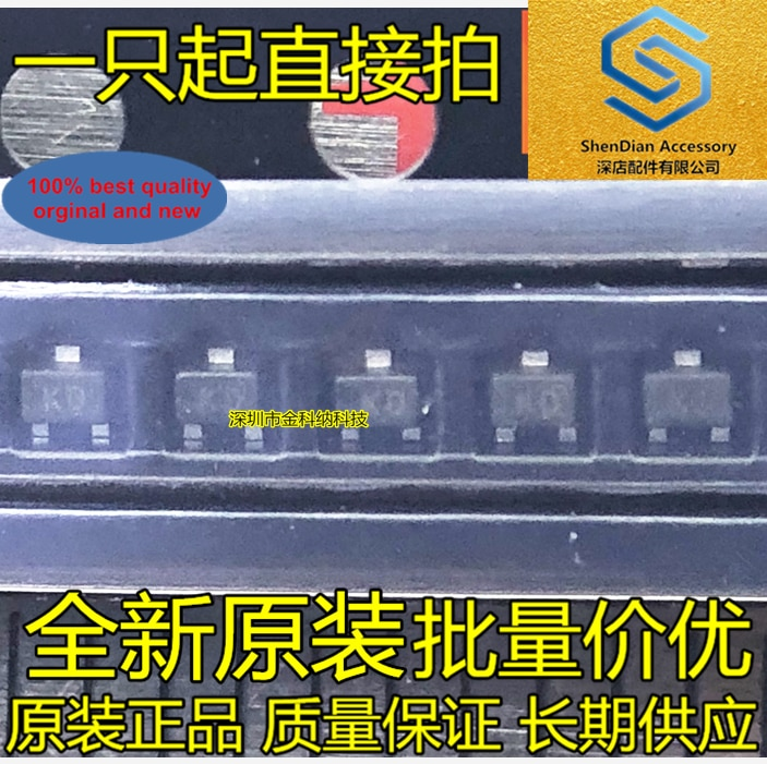 50 Uds 100% original nuevo SMD Transistor KRC402-RTK KRC402-RTK / P de impresión de pantalla NB SOT323 integrado SMD IC foto real