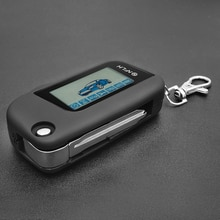 A93 Remote Control Key Fob Chain Keychain For Starline A93 Russian Vehicle Security Two Way Car Alar