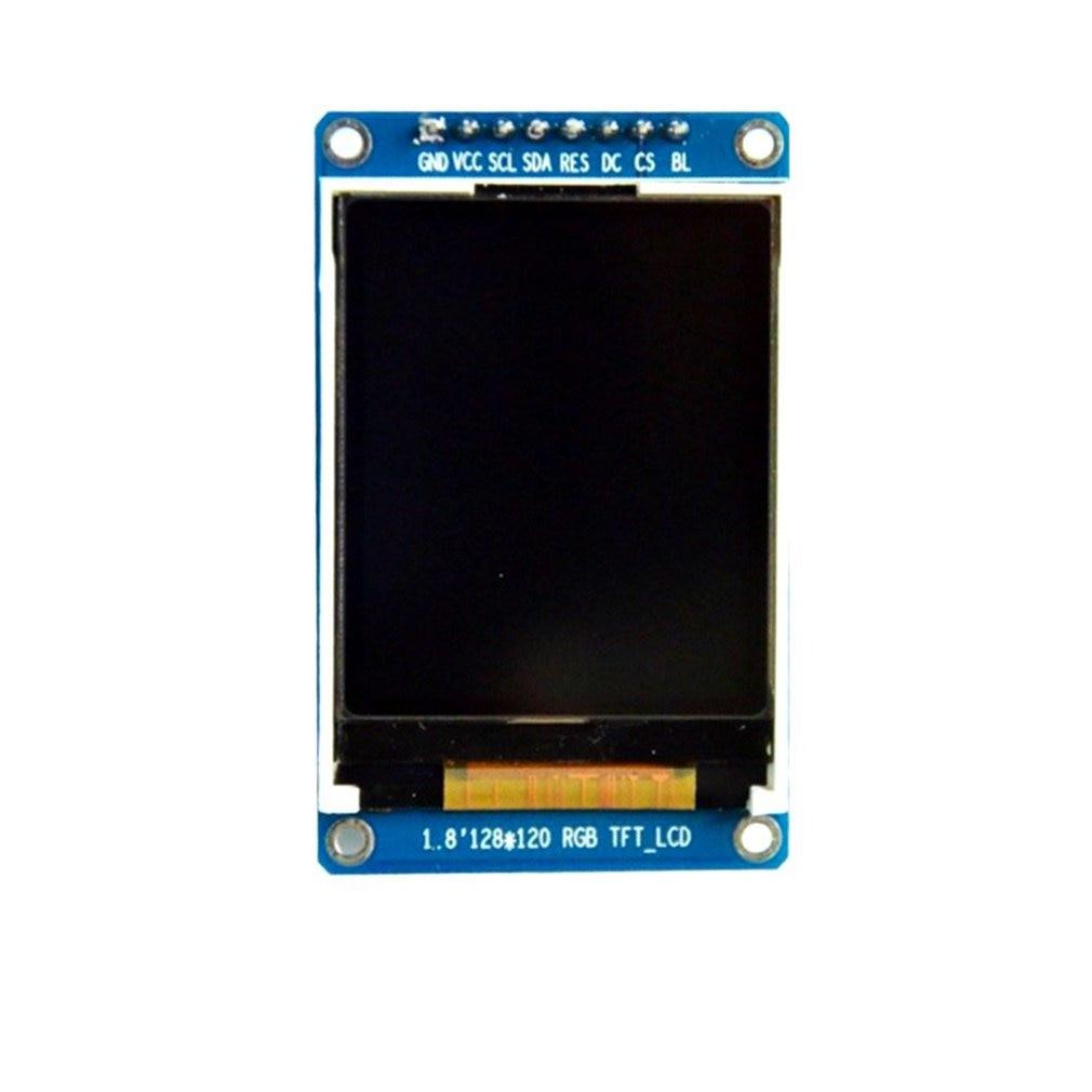 Módulo de pantalla OLED LCD TFT a todo Color SPI HD de 1,8 pulgadas 128X160 para Arduino Driver IC ST7735S equipo de pantalla 15g