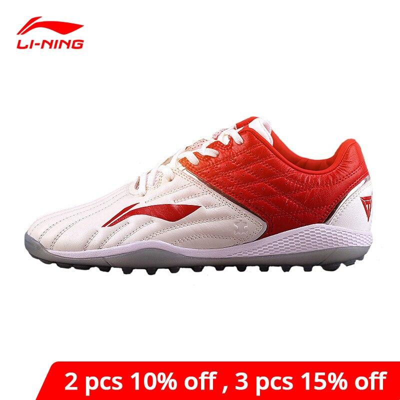 Li-Ning Men TIE TF Training Soccer Shoes Cushion Wearable Anti-Slip LiNing li ning Support Sport Shoes Sneakers ASTN001 YXZ088