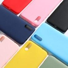 Silikon Candy Fall Für Vivo V11 V15 Pro V11i V7 V9 Plus X20 X21 X23 X27 X7 X9 X9s Plus y22 Y53 Y55 Y66 Y69 Y71 Y81 Y91 Y83 Pro