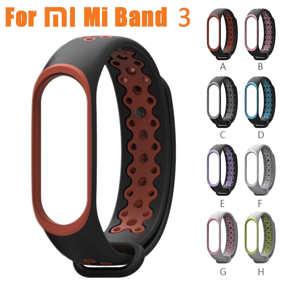 Correa de repuesto para reloj Xiaomi Mi Band 3, pulsera deportiva antideslizante...