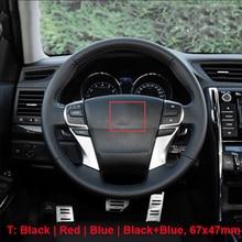 Auto Styling Lenkrad Zentrum T Emblem Hybrid Geändert Logo Aufkleber für Toyota Camry Corolla Reiz Highlander Yaris