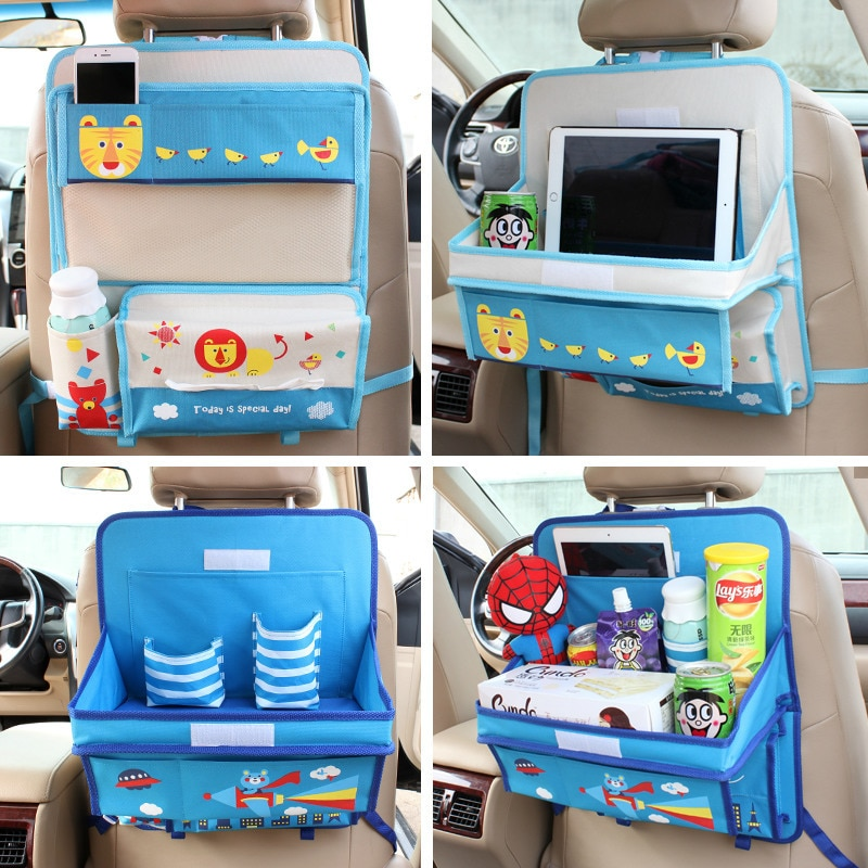 Baby Stroller Accessories Car Seat Storage Bag Hanging Bags Back Product Multifunction vehicle Box