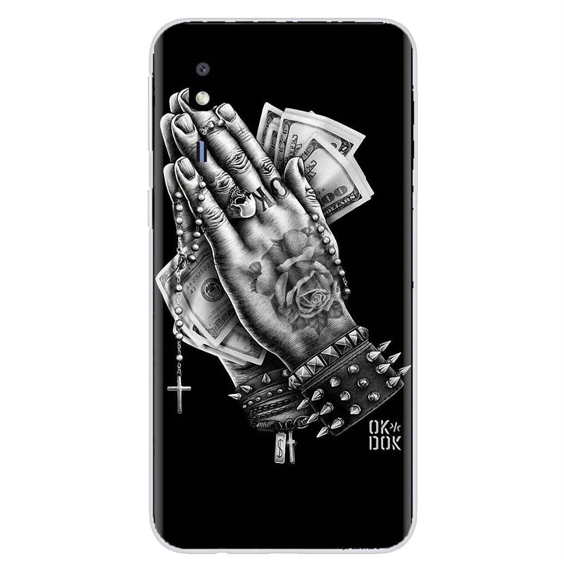 Teléfono inteligente, de silicona teléfono caso para Sony Xperia Z 3 Z Z1 Z2 Z3 Z5 XZ1 XZ2 compacto M2 M4 M5 C4 C6 E3 T3 Latina tengo este rezar