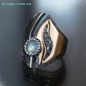 Europe and the United States explosions ring best selling explosions two-color ring oval ring fidelity plating