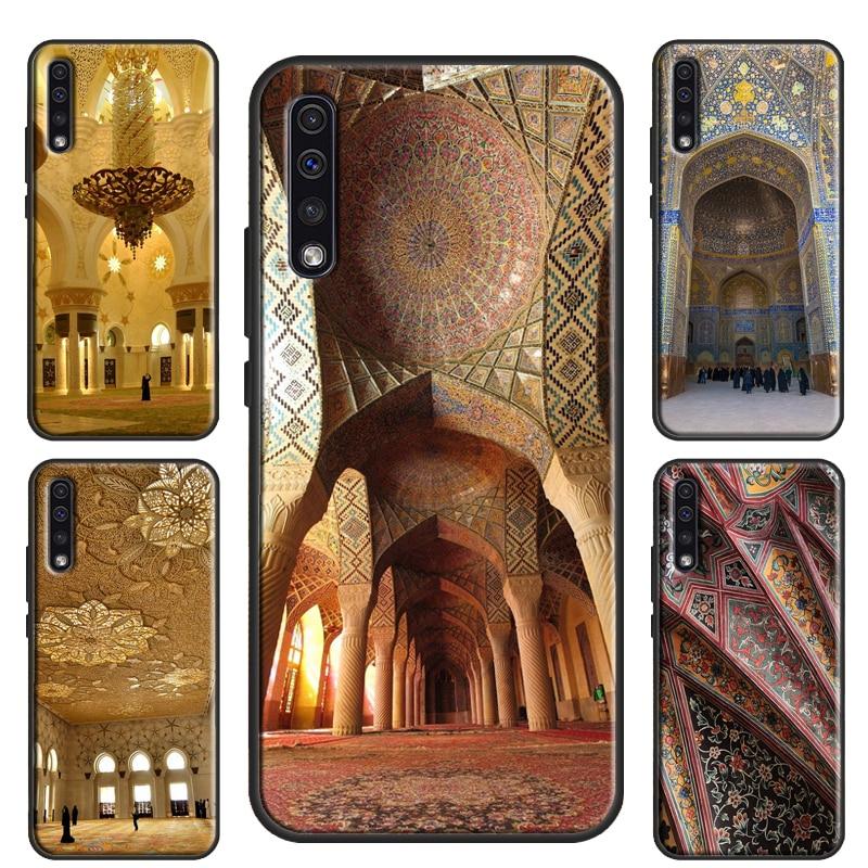 La mezquita musulmana caso para Samsung Galaxy S20 Ultra S8 S9 S10 A51 A71 A50 A70 A40 A10 Nota 10 Plus S10e