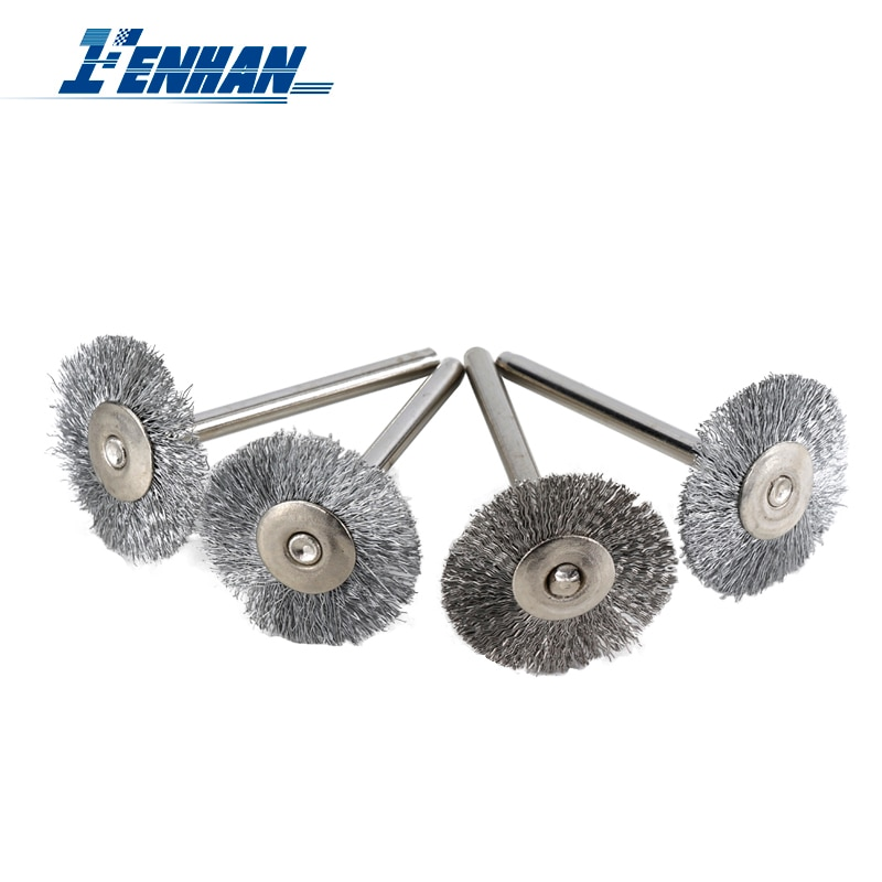 30pcs mini rotary stainless steel wire wheel wire brush small wire brushes set dremel accessories for mini drill rotary tools 10pcs/set Stainless Steel Wire Wheel Brush Rotary Tool Accessories for Dremel Mini Drill Rotary Tools Electric Tool for Engraver