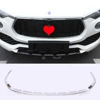 abs car styling for maserati levante 2016 2017 car grille decorative frame plating car exterior accessories