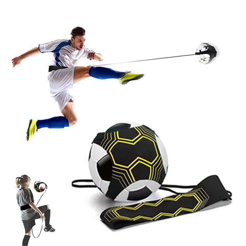 Soccer Kick Trainer Children Auxiliary Circling Belt Kids Soccer Ball Juggle Bags Kick Solo Soccer Trainer Football Kick kick
