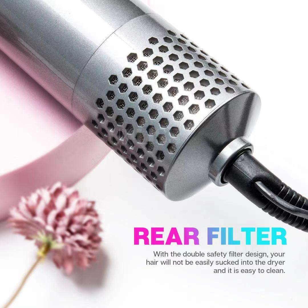 Curly Iron Electric Hairdryer Hair Straightener Brush Multifunction Curler enlarge