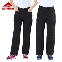 royalway autumn winter outdoor hiking pants climbing fishing cycling waterproof couples sport casual pants rom6146bf rol6137bf