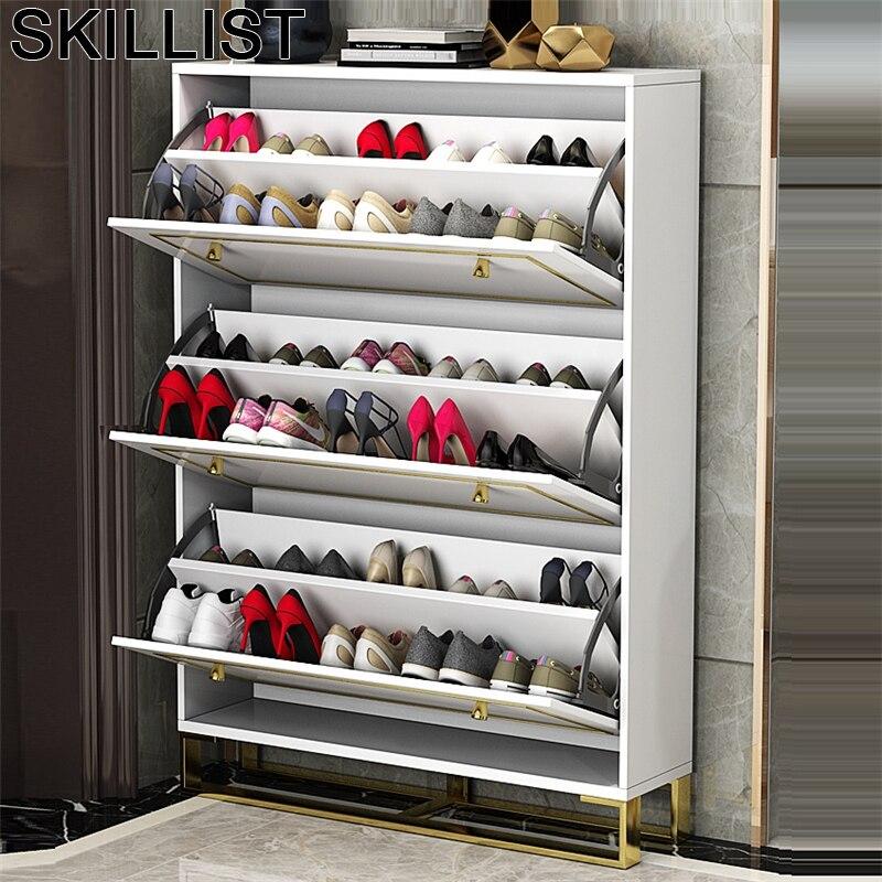 Armoire Rangement minimaliste organisateur darmario Moveis Para Casa Mueble meuble porte meuble Scarpiera Rangement chaussures