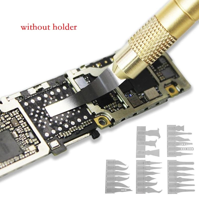 Nuevo Multi-función 27 en 1 palanca quitar la placa base Reparación de circuito integrado de reparación de placa cuchillo para ordenador sin soporte