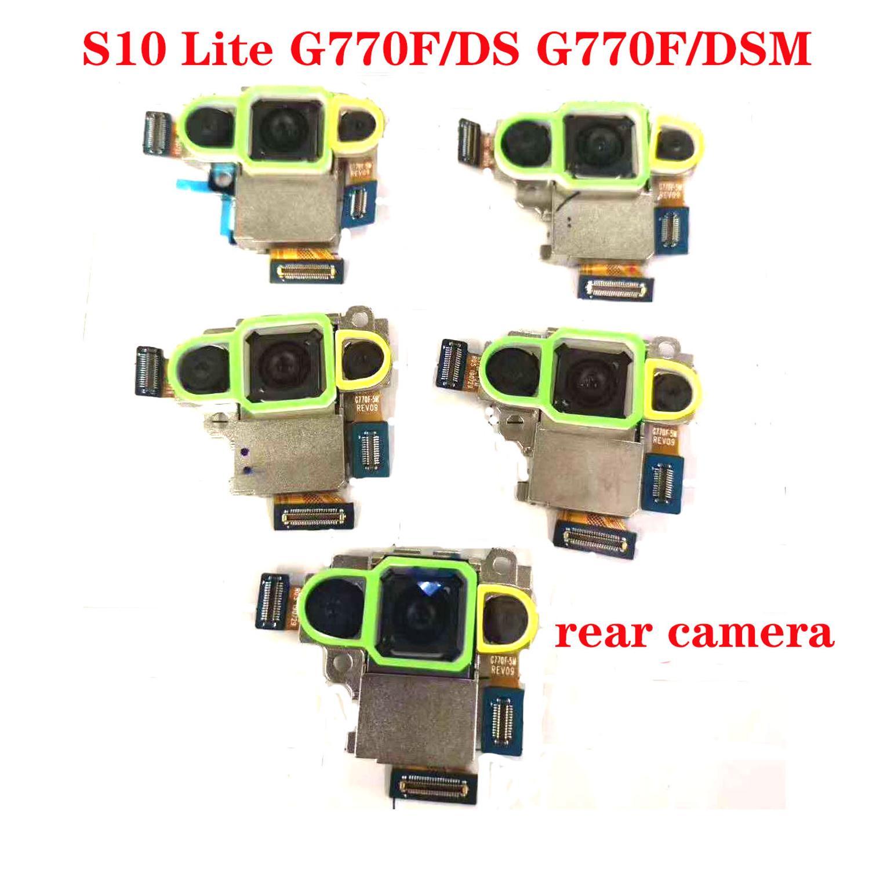 Cámara trasera placa Flex Cable cámara trasera para Samsung Galaxy S10 Lite G770F/DS G770F/DSM