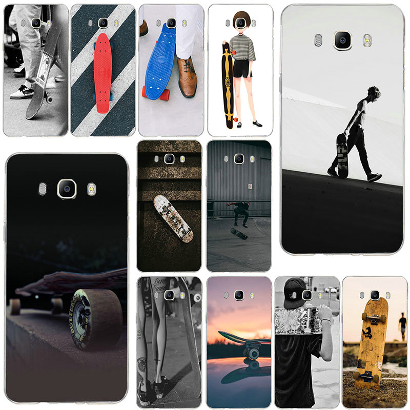 Fashion Skateboard Skate Santa Cruz Soft Silicone TPU For Samsung Galaxy Note 2 3 4 5 8 S2 S3 S4 S5 Mini S6 S7 S8 S9 Edge Plus