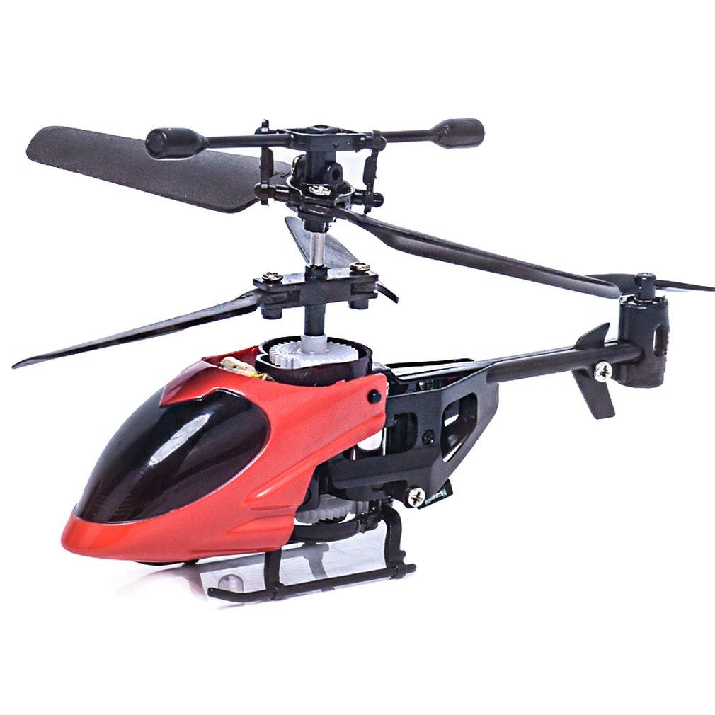 QS5010 3.5CH Micro infrarrojo RC Drone aeronave con giroscopio Control remoto juguetes Mini QS RC helicóptero-cabeza redonda