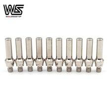 52583 électrode prolongée pour PTM-60 PTM60 IPT-60 IPT60 PT60 coupe plasma torche consommables PKG/10