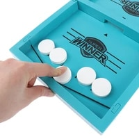 table board games fast hockey sling puck game paced sling puck winner fun wooden toys party game toys for adult child family