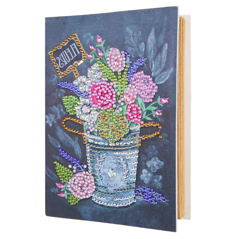 DIYDiamond pintura familia álbum de fotos Ornamental e integración práctica bonita caja de almacenamiento de fotos de papel Kraft álbum de fotos