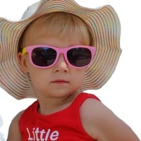 new 50pcslot kids polarized sunglasses tr90 boys girls sun glasses silicone safety gift for children baby eyewear gafas