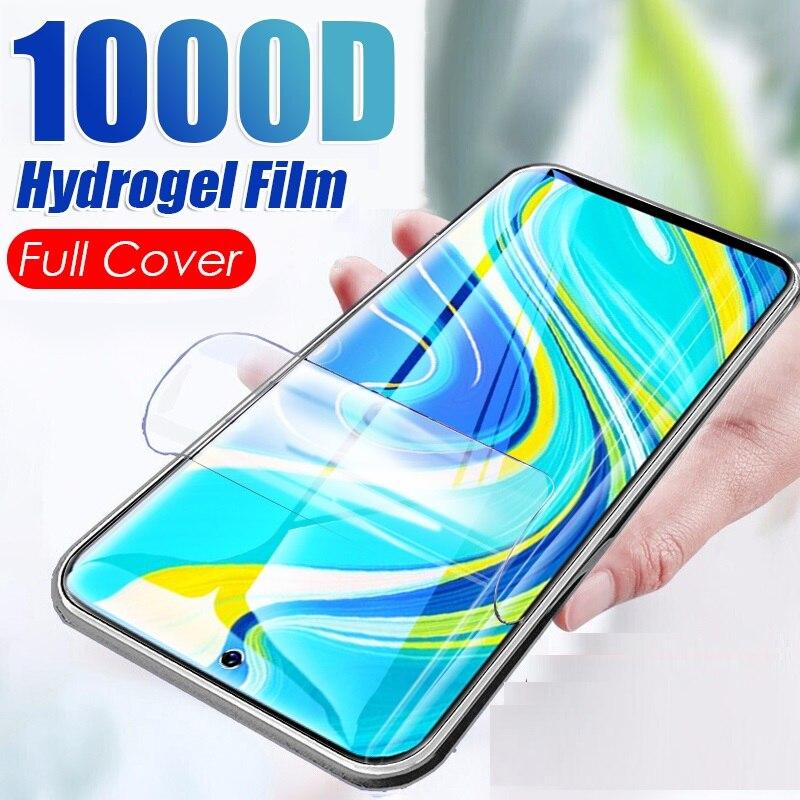 Transparent Screen Protector Hydrogel Film Für LG V60 V 60 ThinQ Schutz Film Nicht Glas Für LG V 60 V 60 ThinQ