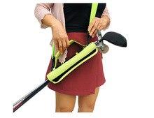 Golf Club Carrier Bag Carry Driving Range Travel Mini Portable Bag for Men Women Kids Golfer