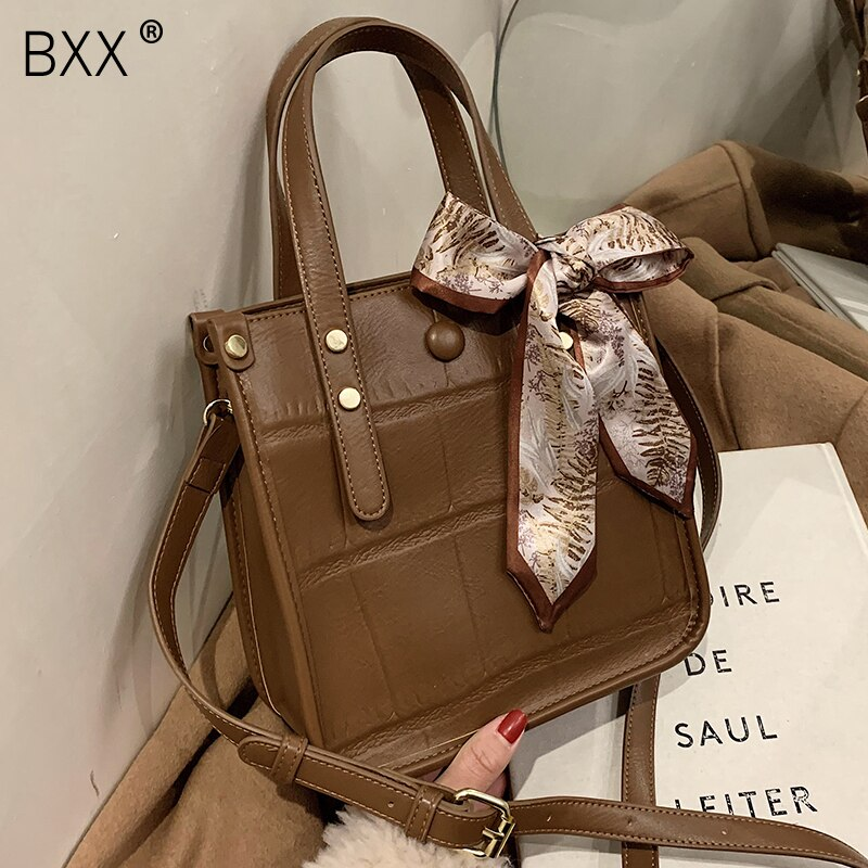 [BXX] PU Leather Small Crossbody Bag 2021 Spring Fashion New High Quality Lady Travel Luxury Shoulder Handbag and Purses HQ790