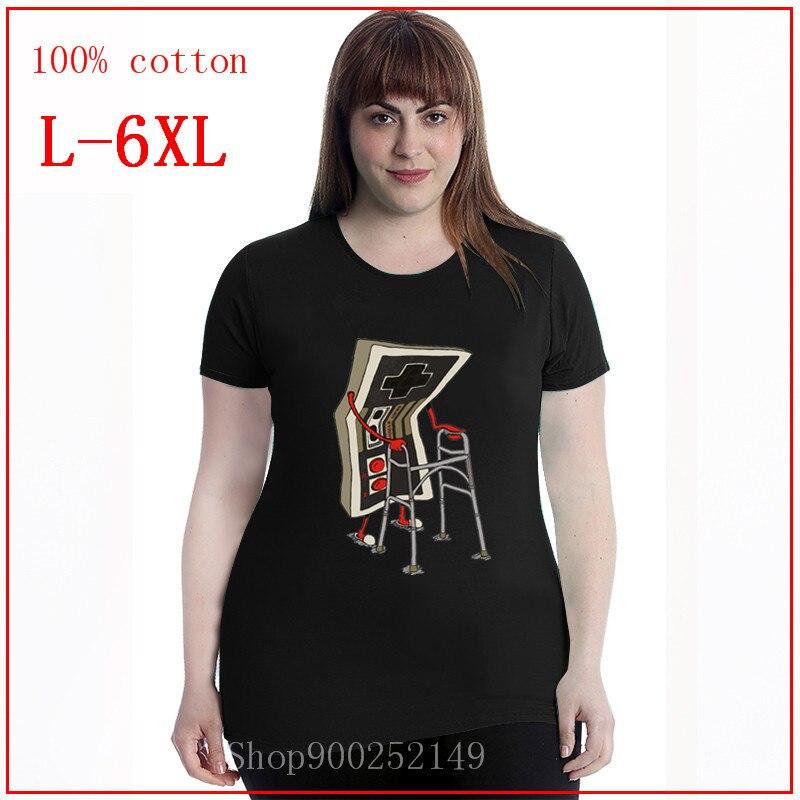 2020 velho jogo nintendo old school feminino-curto 2020 manga curta o-pescoço harajuku américa hip hop camiseta oversize 4xl 5xl 6xl