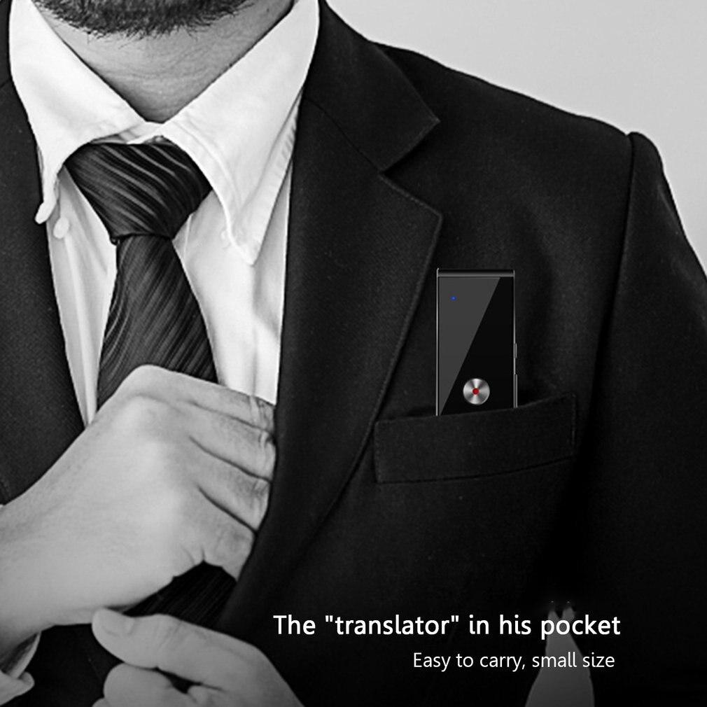 T8 Smart Voice Translator Two-way Real Time 30 Multi-Language Translation Portable Travel Translation Machine enlarge