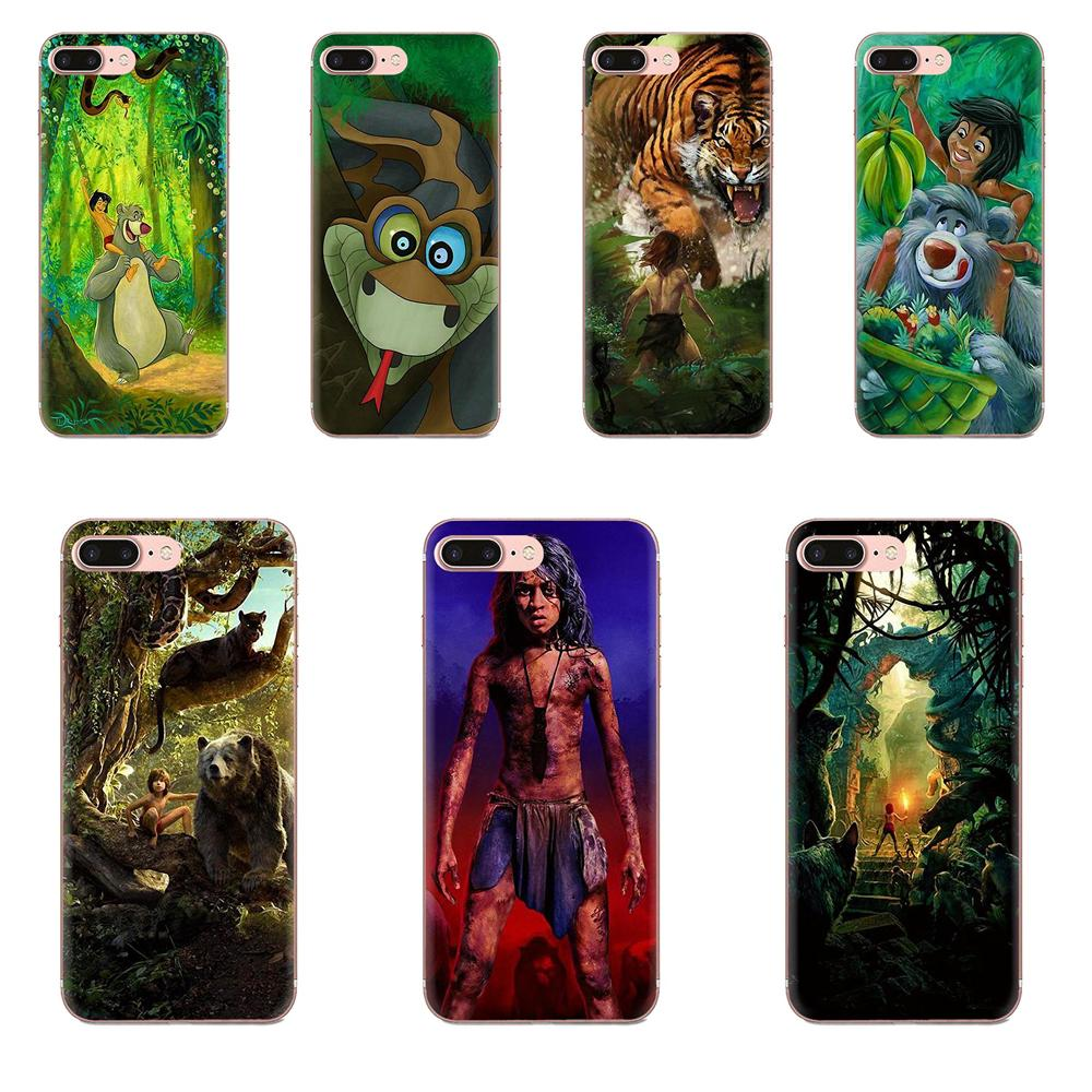 O livro da selva mowgli para samsung galaxy note 5 8 9 s3 s4 s5 s6 s7 s8 s9 s10 5g mini borda mais lite caso de telefone moda luxo