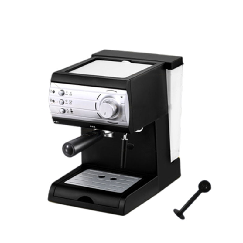 KF6001 Coffee machine household small Italian semi-automatic steam type milk, thick adjustable, can make all kinds of coffee
