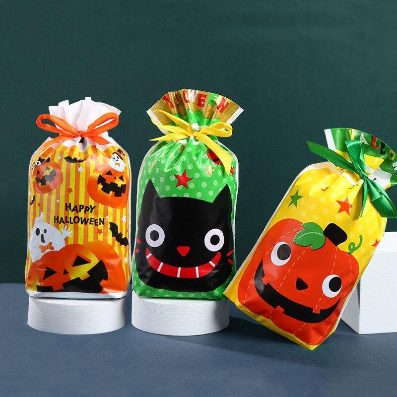50-шт-лот-пакеты-на-шнурке-для-Хэллоуина-конфет-печенья-закусок-сладкая-Рождественская-вечеринка-подарочная-упаковка-лакомство-с-лентой