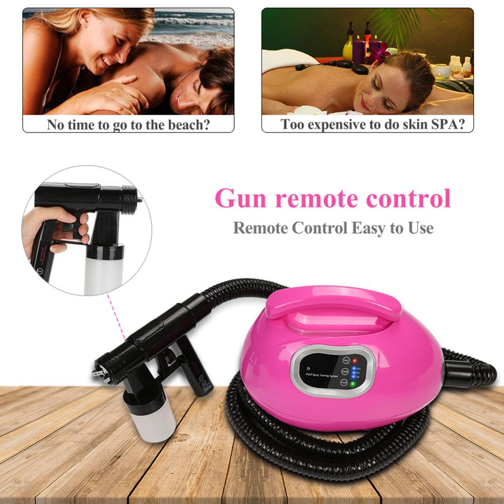 Professional Spray Tanning Machine Kit Sunless Tanning Airbrus Machine for Giving You a Bronzed Skin At The Beach Tattoo Supply