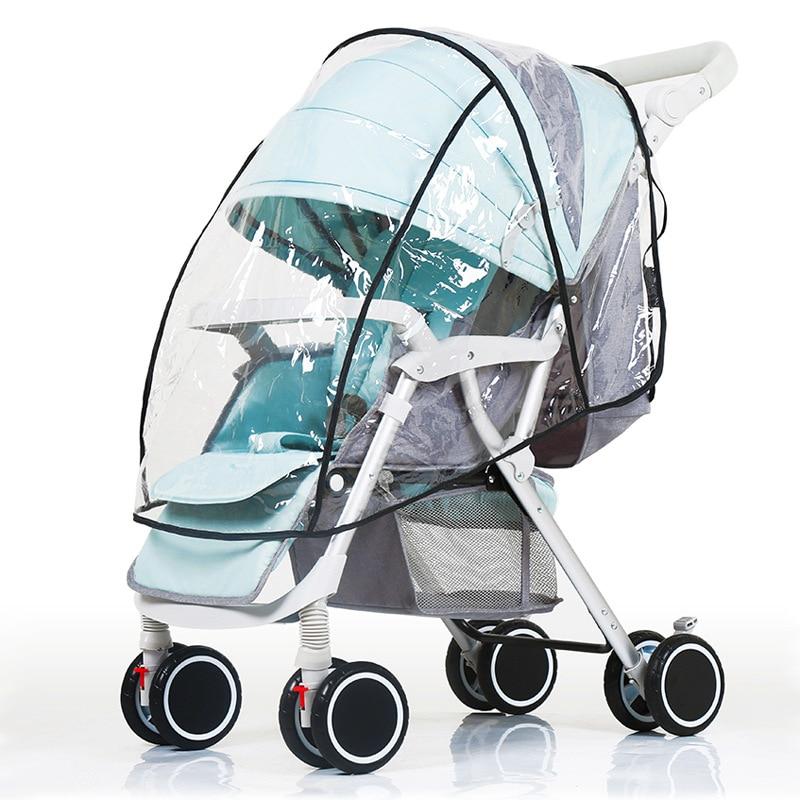 Дождевик для детской коляски, дождевик с зонтом для коляски, дождевик для коляски, аксессуары для тележки, багги, защита от погоды