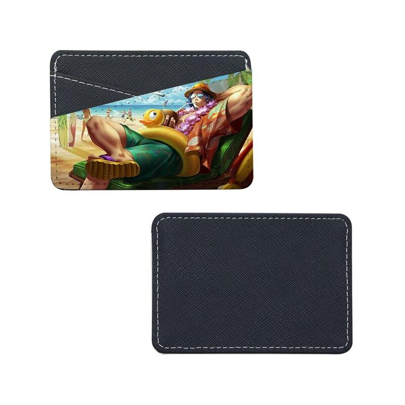 جديد!! 12 قطعة/الوحدة فارغة التسامي جلدية بطاقة حقيبة حامل ل نقل الحرارة الطباعة فارغة الاستهلاكية DIY 7x11cm