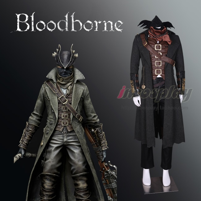 Disfraz gótico de The Old Hunters Kjellman de Bloodborne, uniforme para Halloween o carnaval, personalizado, cualquier talla, Envío Gratis