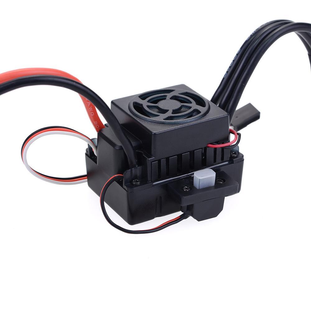 Waterproof 3650 2300KV 3100KV 3900KV Brushless Motor with 60A ESC w/ Program Card Combo for 1/10 1/12 RC Car Truck Monster Toy