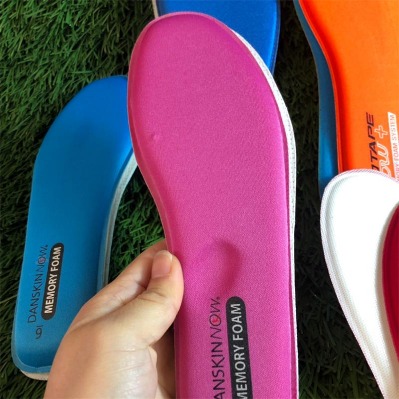 EXPfoot Memory Foam Cushioning Insole Breathable Absorbent Insoles for Men and Women shoes Slow rebo