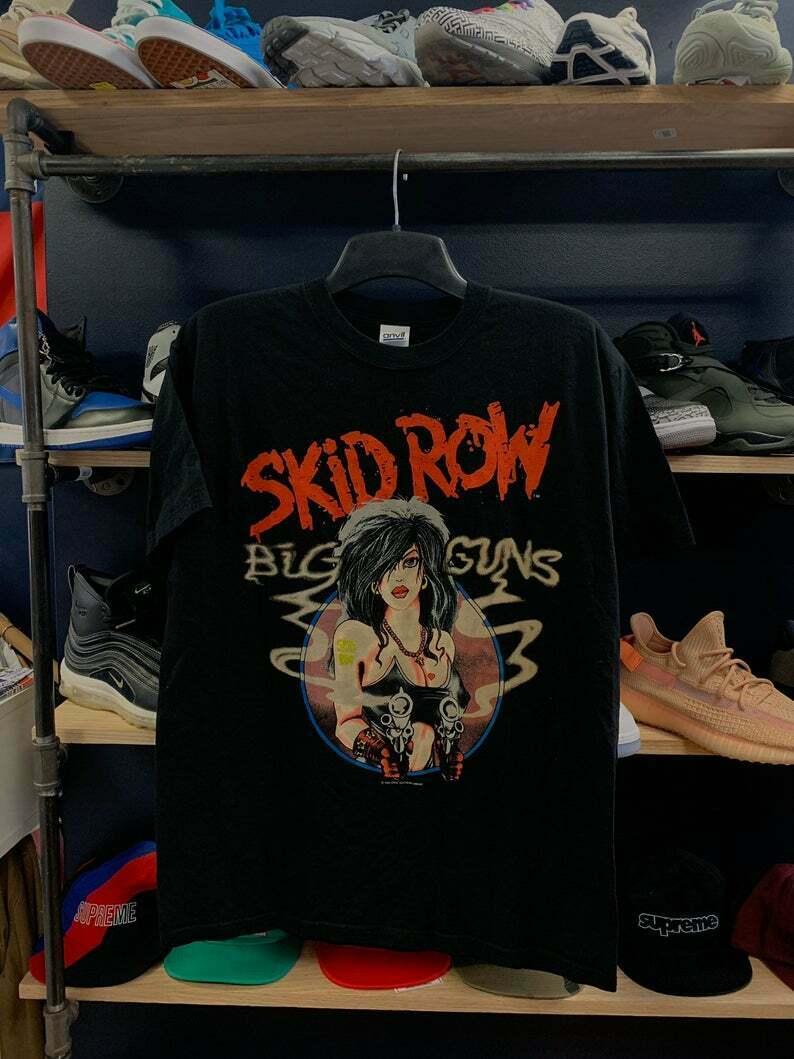 Vintage Skid Row armas T camisa S Xxl