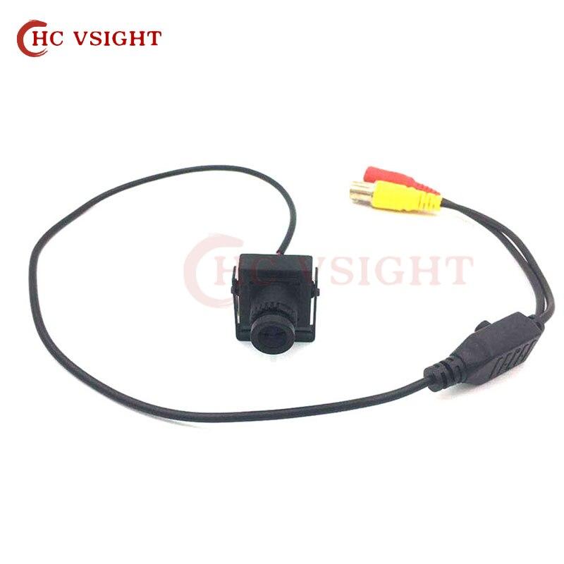 700TVL мини квадратная аналоговая камера с кнопкой меню Sony Ccd2090 + 811 мини металлический корпус CCTV безопасность промышленная камера