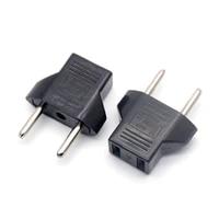 common eu to us plug adapter socket plug converter travel electrical power adapter socket us to eu plug