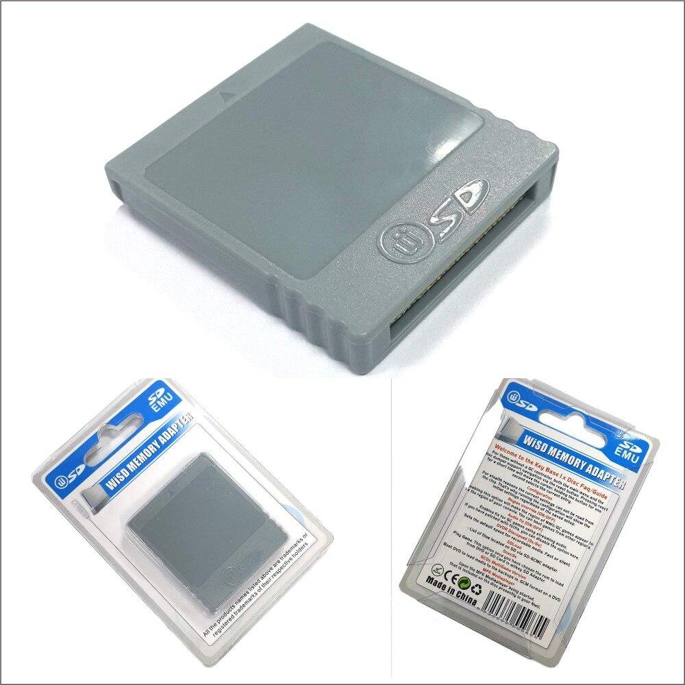 Adaptador de adaptador para Nintendo Wii NG GC, lector de tarjetas de...