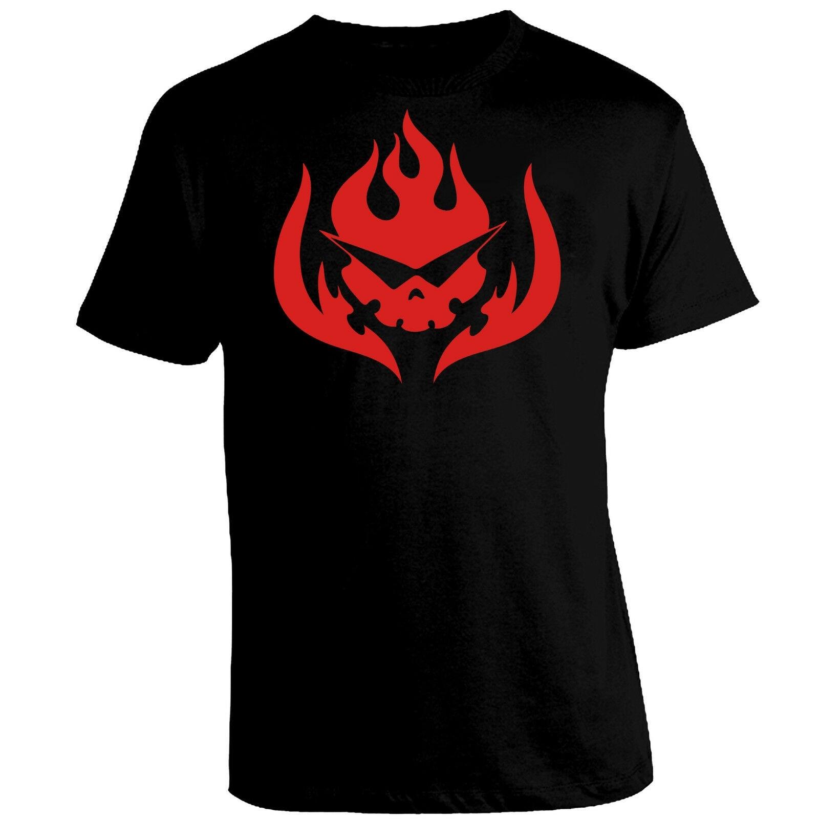 Tengen parche de logotipo Gurren Lagann Kamina Yoko camiseta anime negro camiseta T-Shirt-Mostrar título original