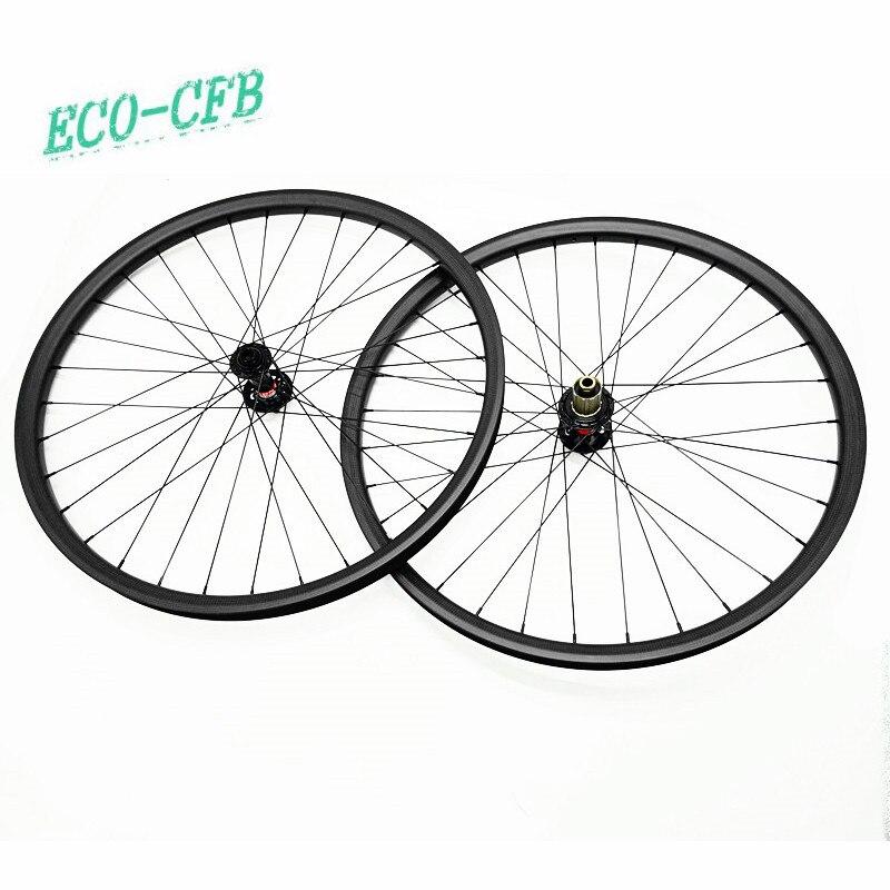 29er asymétrie 33.5x25mm roue de vélo novatec D791SB D792SB 110x15 142x12 vtt 29 roues tubeless disque carbone roues pilier 1420