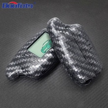Car Key Covers Case Styling Accessories Protection LCD Remote Two Way Auto Alarm System Fob For Toma