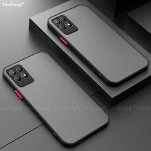 For Realme 8i Case Silicone Matte Rubber Translucent Case For Realme 8i 8 Pro GT Master Case For Rea